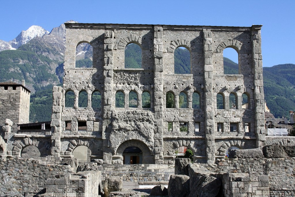 Aosta Pictures Photo Gallery Of Aosta High Quality