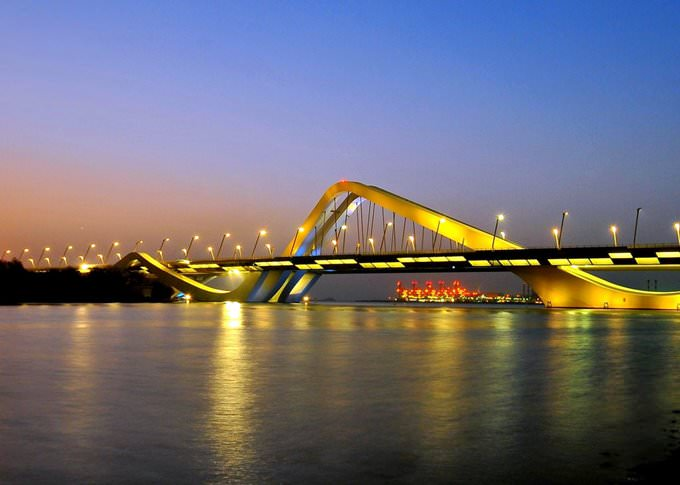 Sheikh Zayed Bridge - Abu Dhabi