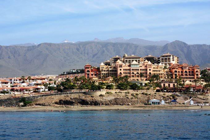 Costa Adeje desde el Mar