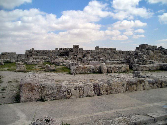 The citadel and the umayyed palace Amman