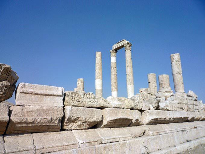Roman Remains at Amman