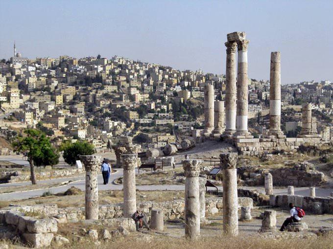 The Citadel Amman Jordan