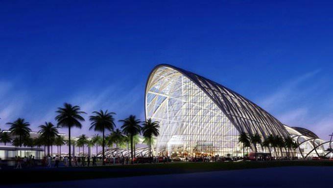 ARTIC high speed rail station winning concept. on Vimeo by Gordon Tarpley