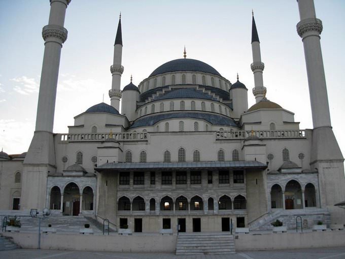 Kocatepe Mosque, Ankara, early morning