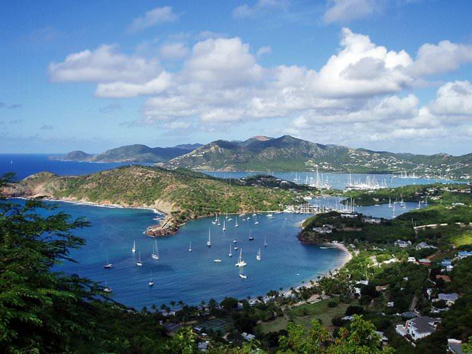Antigua - Caribbean ocean