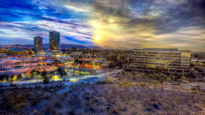 Day to Night in Tempe