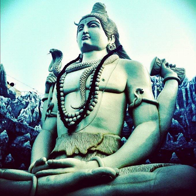 Shiva statue, Bangalore