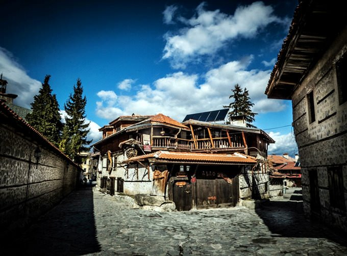 Bansko-The old town