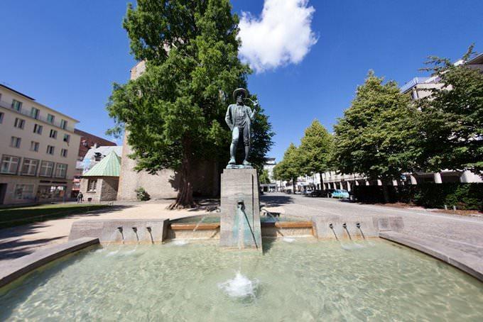 Leineweber-Denkmal in Bielefeld