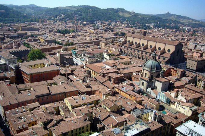 Bologna Aerial