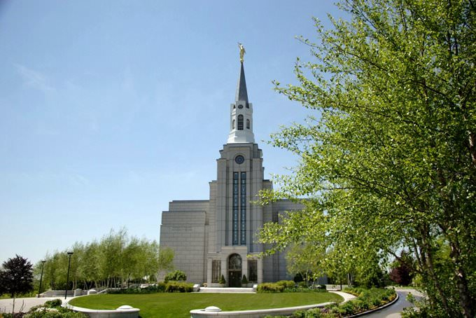 Boston Mass. Temple