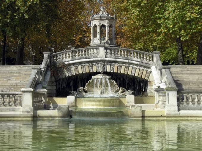 Fontaine du parc Darcy à Dijon