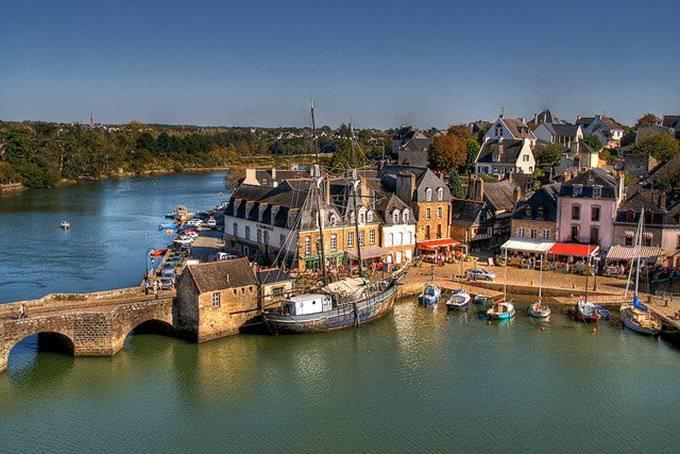 Auray - France | Saint Goustan - Port dAuray