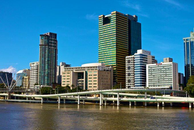 Brisbane - plan de la ciudad | Mapas imprimidos de Brisbane ...