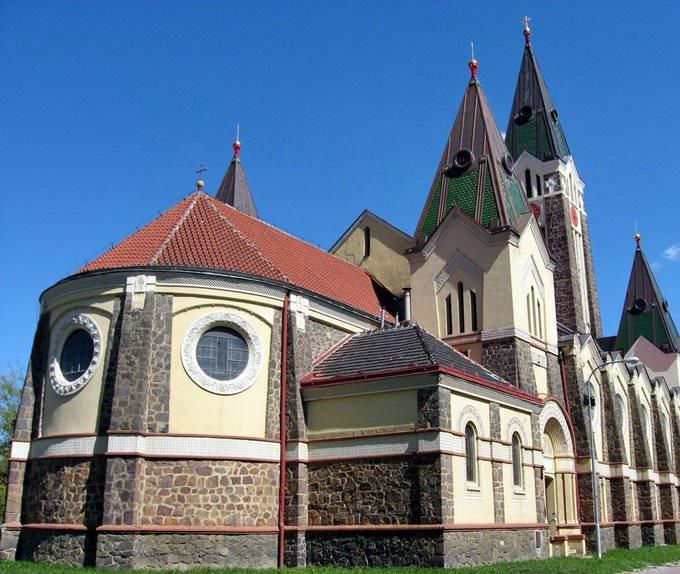 Husovice church