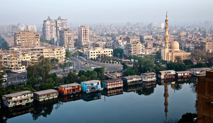 Cairo along the river