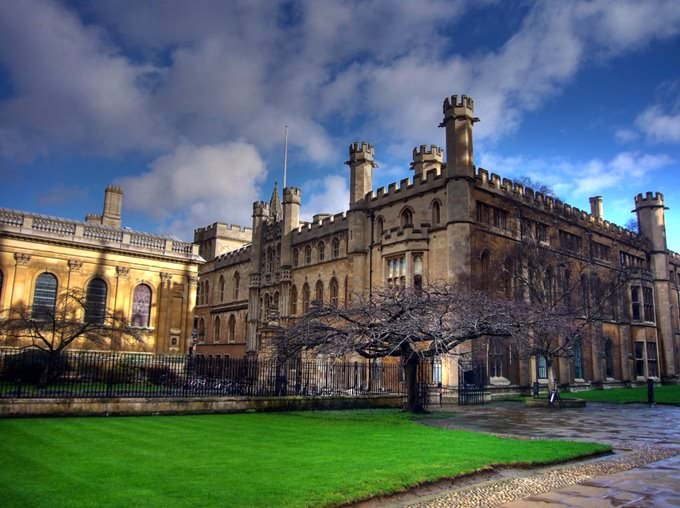 Chapel of Clare College and the Old Schools building