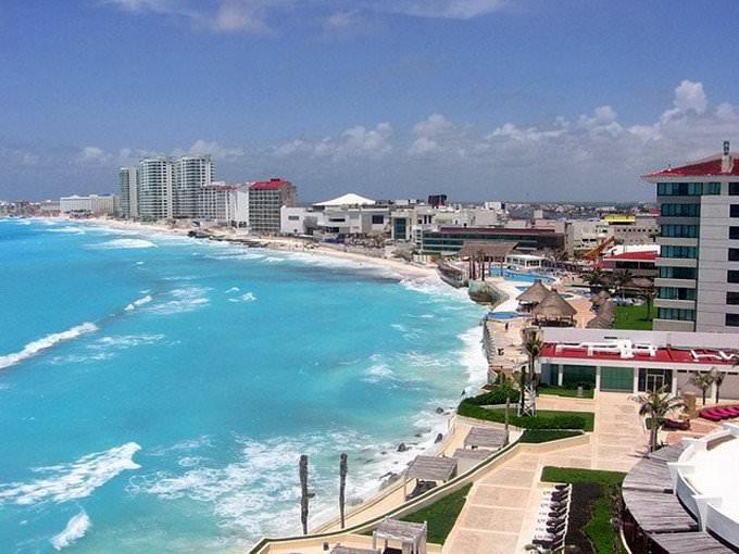 Vista de Cancun