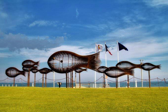 Fish Sculptures near Cannes