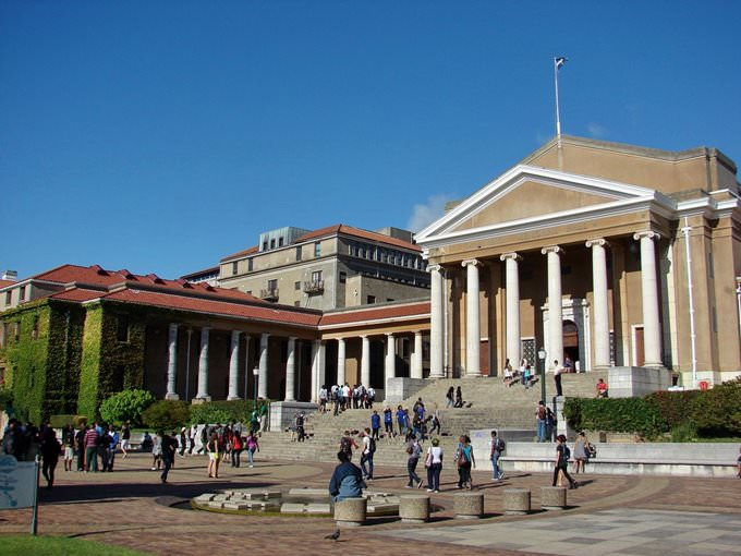 Jameson Hall at the University of Cape Town