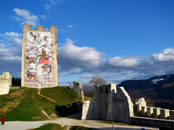 Castle in Celje, SI