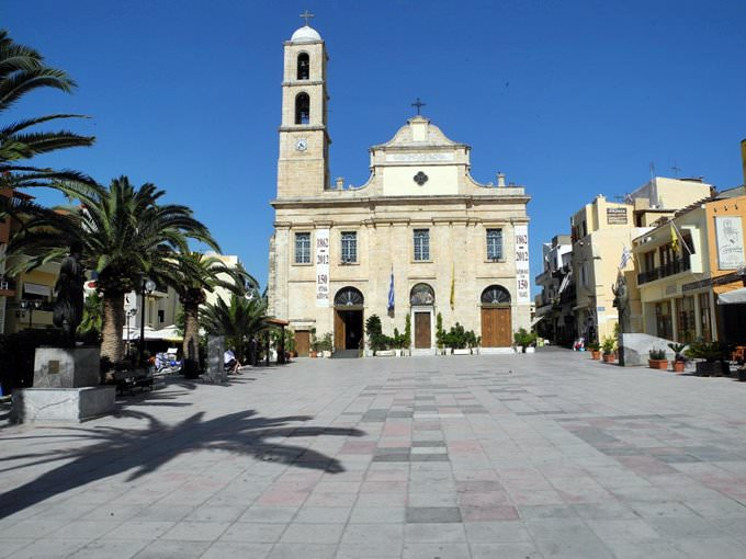 Orthodox cathedral of Chania