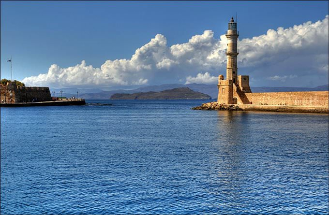Fortezza and lighthouse Chania