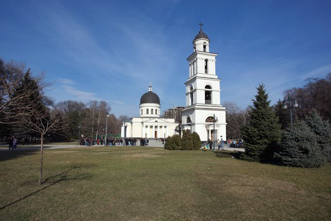 Chisinau Cathedral and Bell Tower