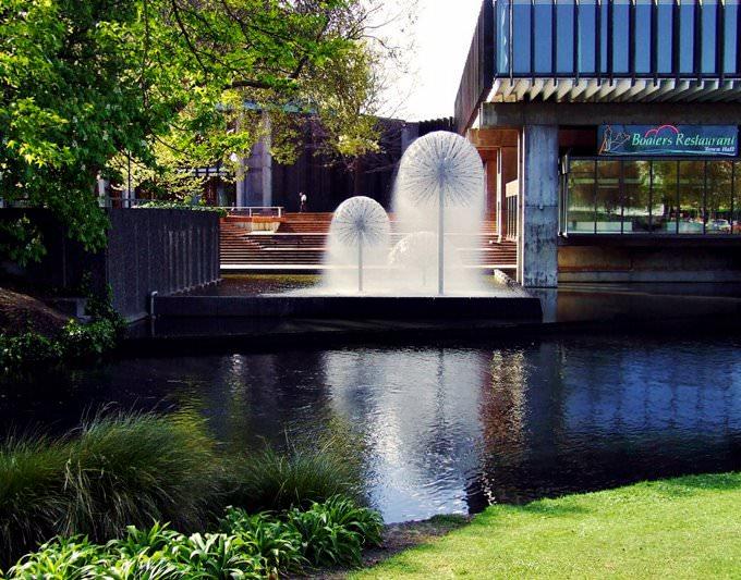 Christchurch fountains