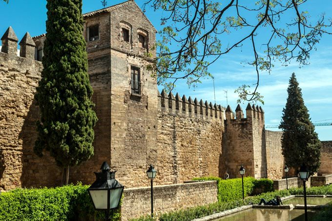 Fortification walls of Cordoba, Andalusia
