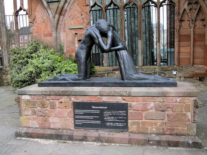 Reconciliation Statue, The Old Cathedral