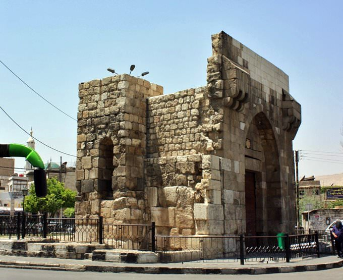 Bab Touma (Gate of Thomas) Damascus
