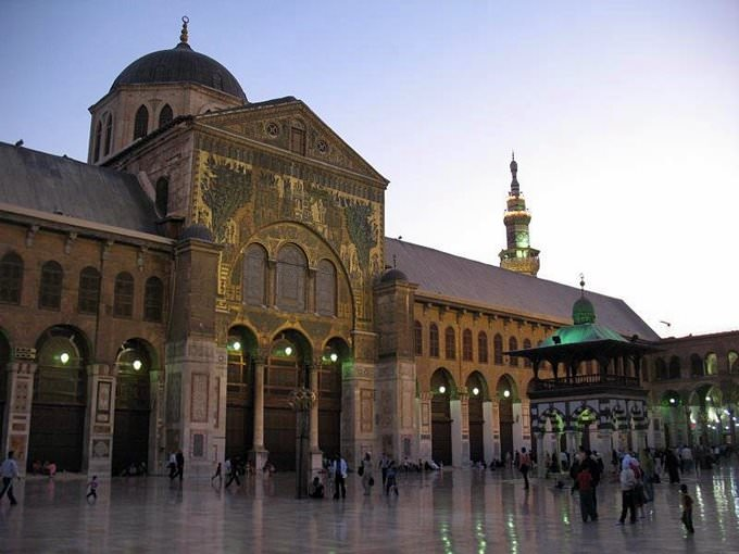 Umayyad moskee in Damascus