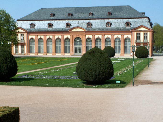 Orangerie in Darmstadt