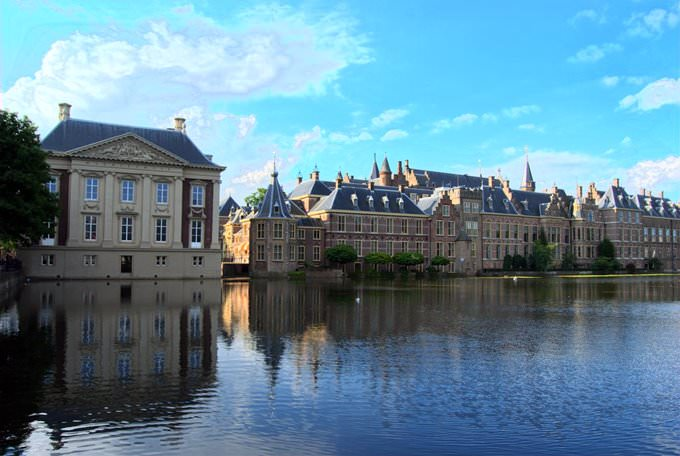 Mauritshuis, Binnenhof and Hofvijver, The Hague