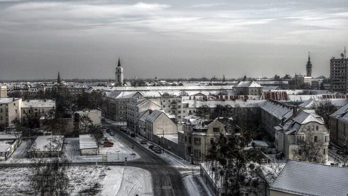 Dessau im Winter