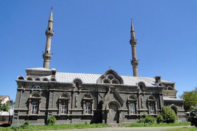Fethiye Mosque - Built as Barracks for Cossacks in Tribute to Alexander Nevsky