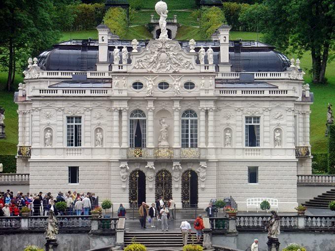 Garmisch-Partenkirchen Schloss Linderhof