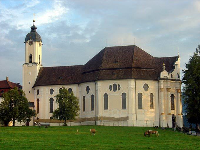 Garmisch-Partenkirchen Wieskirche