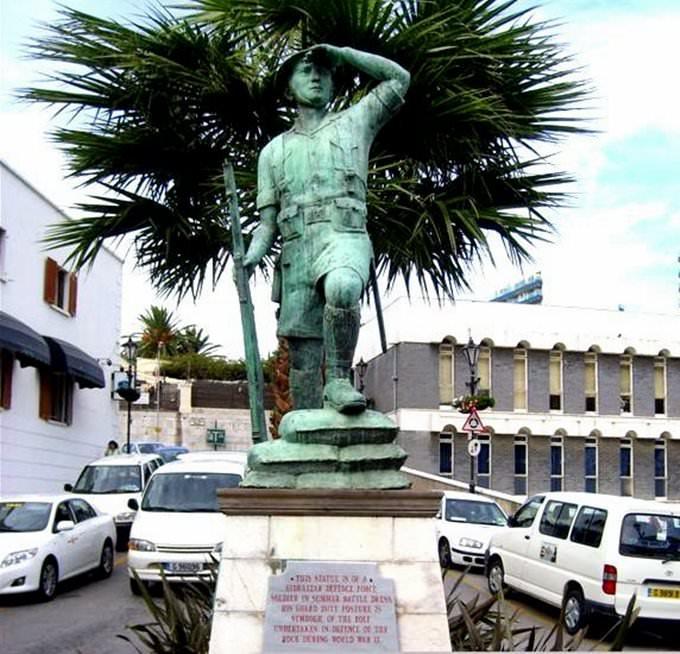 bc5b364fb Gibraltar The majority of popular shops ...