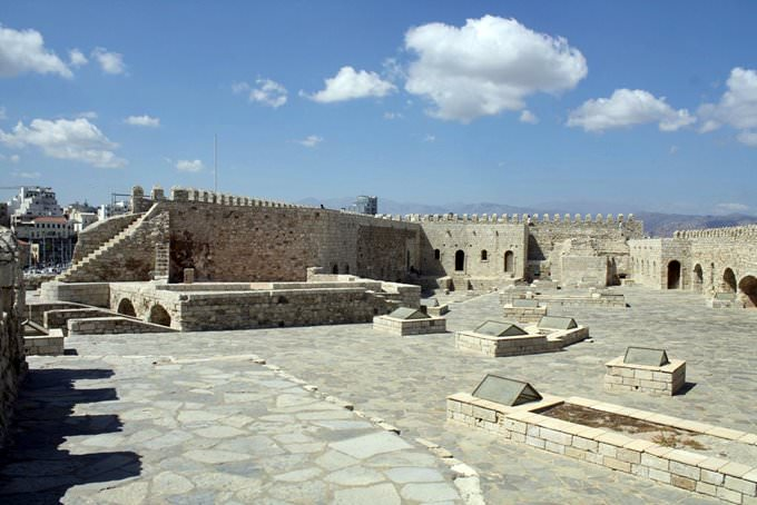 Heraklion fort