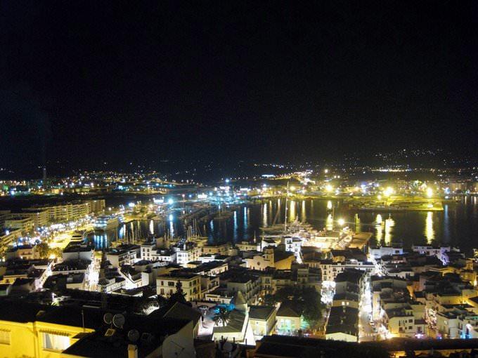 Ibiza Night View