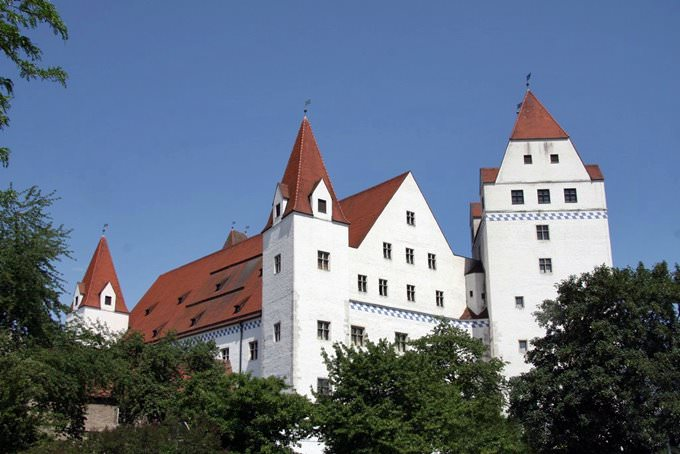 Ingolstadt Neues Schloss - The New Castle