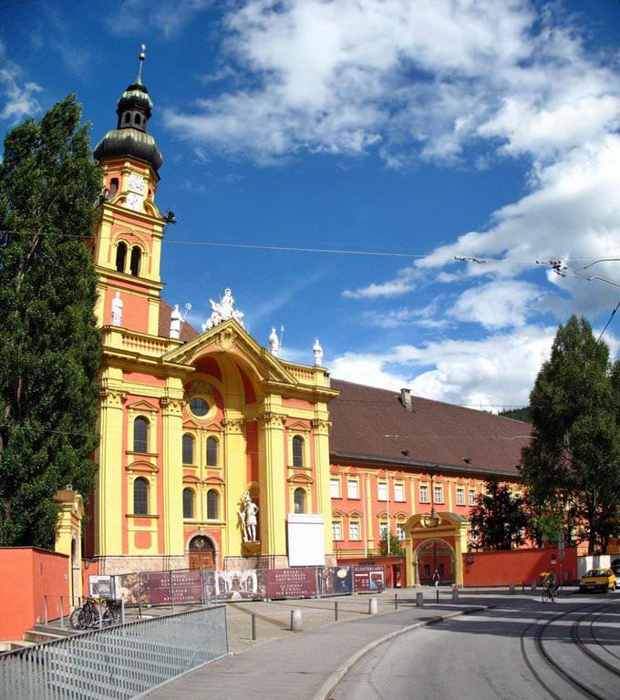Innsbruck - Stiftskirche Wilten