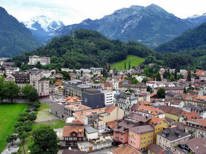 A view of Interlaken
