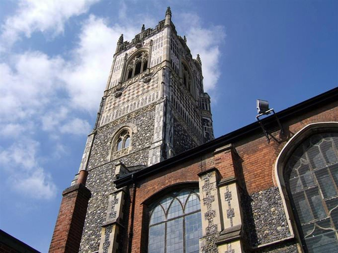 St Lawrences church Ipswich Suffolk