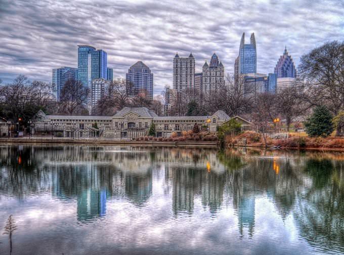 Atlanta Skyline - enilykS atnaltA