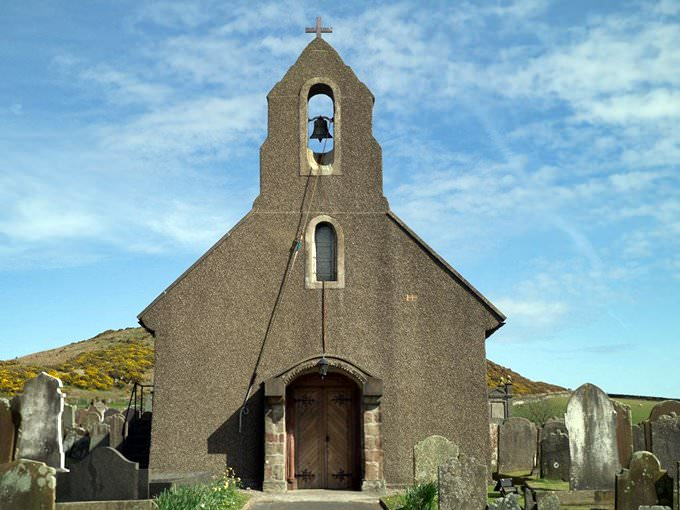 A typical Manx church