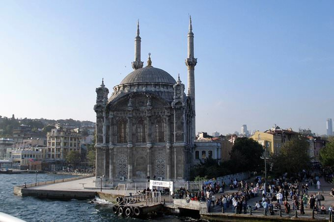 Ortakoy Mosque of Istanbul