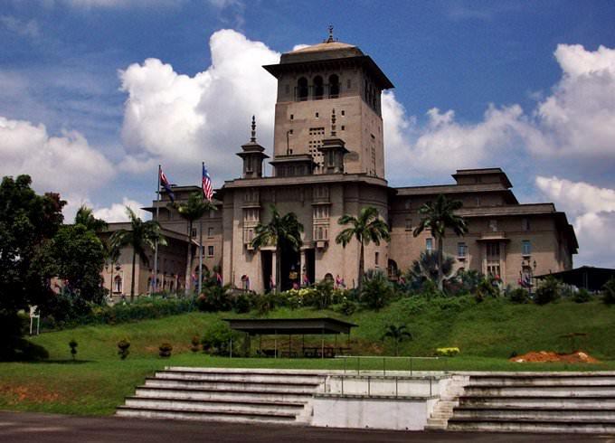 Sultan Ibrahim Building in Johor Bahru, Malaysia